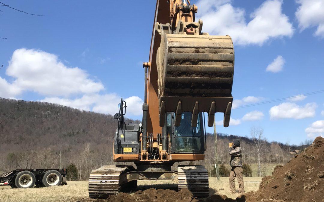 Stream restoration is underway in Madison County