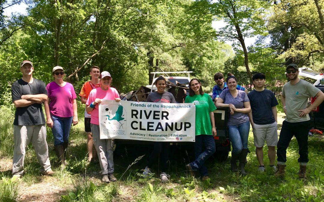 Remington river cleanup is a huge success