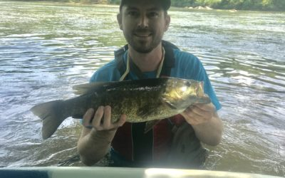 Three tips for catching big summertime smallmouth on the Rappahannock