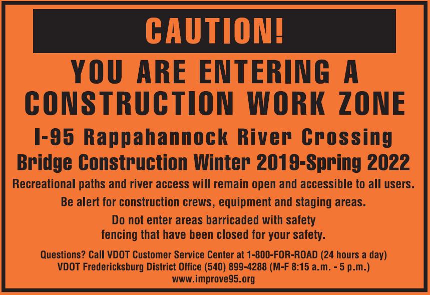 I-95 Rappahannock River Crossing Construction Begins