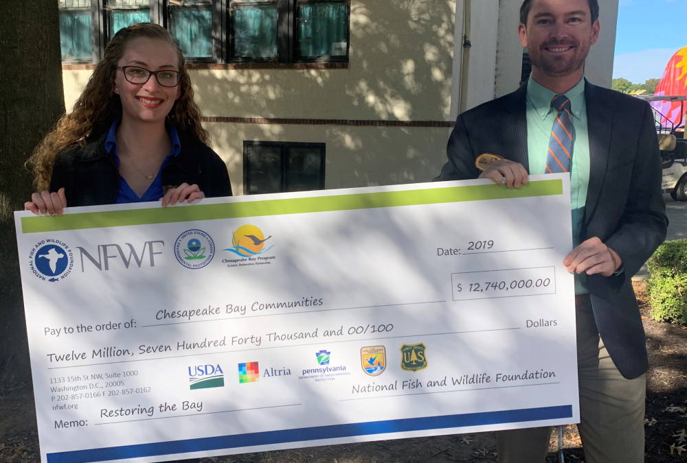 FOR receives $810,000 grant for continued pollution reduction efforts