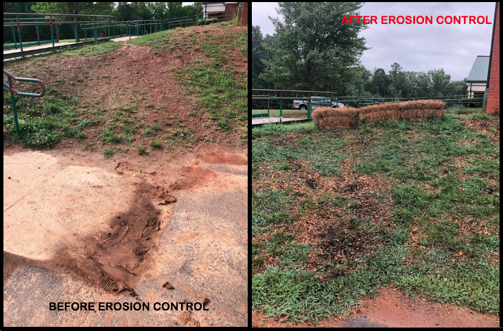 Before and After of Eroded shortcut