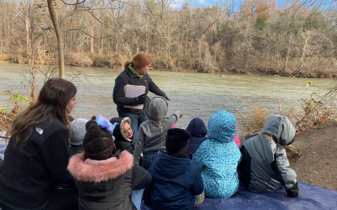 Finding Joy by the River: Students in Nature