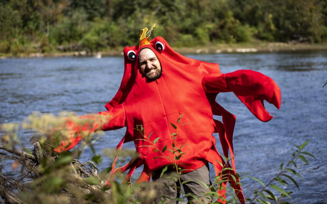 Rappahannock Trivia with Barnacle Crab