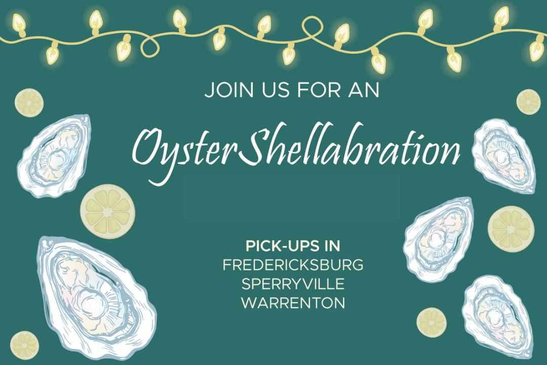 oyster shellabration banner