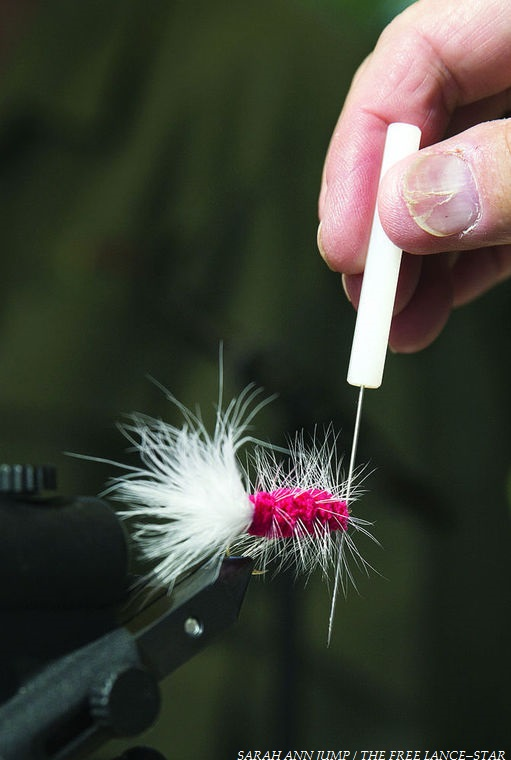 Fredericksburg area volunteers get novices hooked on fly fishing